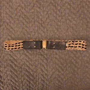 Jcrew sequin jute belt